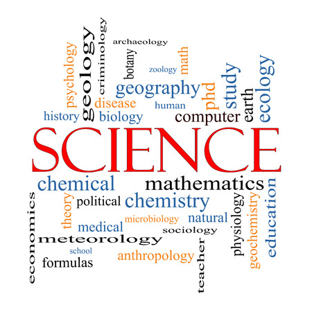 economic botany: Science Word Cloud Concept with great terms such as biology, earth, ecology, natural and more.