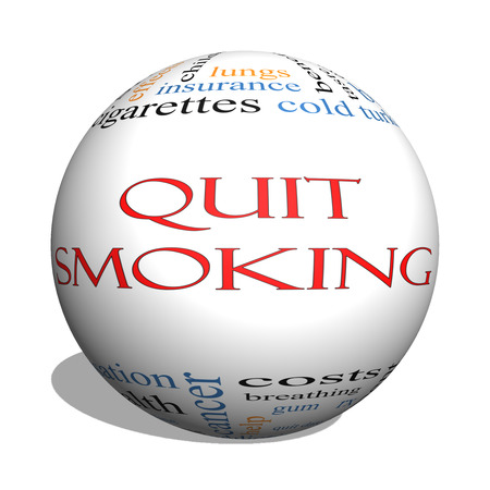 nicotine patch: Quit Smoking Word Cloud Concept on a 3D sphere with great terms such as nicotine, cold turkey, quit date, patch and more.