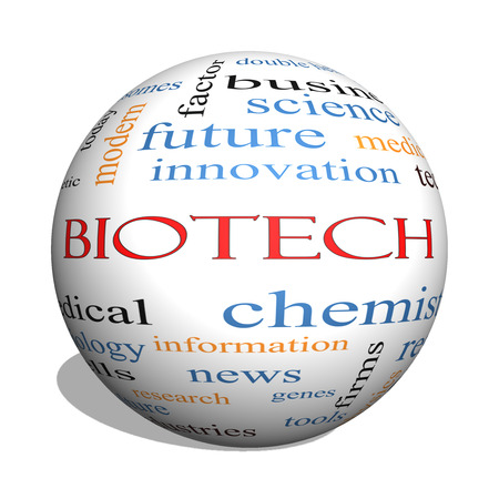 technolgy: Biotech 3D sphere Word Cloud Concept with great terms such as medical, technolgy, dna and more.