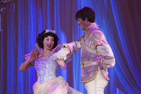 GREEN BAY, WI - FEBRUARY 10:  Snow White and Prince from Snow White at the Disney Princesses show at the Resch Center on February 10, 2012 in Green Bay, Wisconsin.