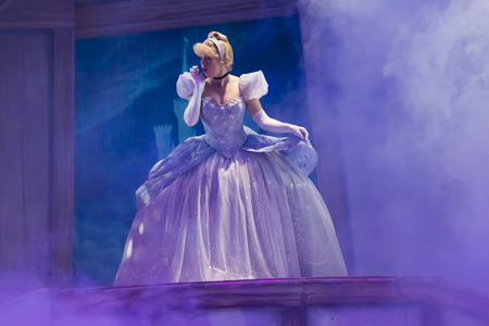 GREEN BAY, WI - FEBRUARY 10:  Cinderella in new dress from Cinderella at the Disney Princesses show at the Resch Center on February 10, 2012 in Green Bay, Wisconsin.