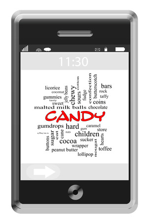 sours: Candy Word Cloud Concept on a Touchscreen Phone with great terms such as sweet, sugar, cane and more.