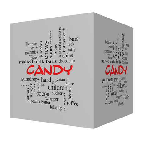 sours: Candy 3D Red Caps Word Cloud Concept with great terms such as sweet, store, cane, bars and more. Stock Photo