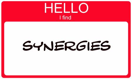 Hallo ik zoek synergieën Rode naamplaatjes maken van een geweldig concept