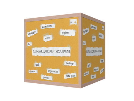 pegboard: Business Requirements Document 3D Corkboard Word Concept with great terms such as projects, brd, consultnants and more.