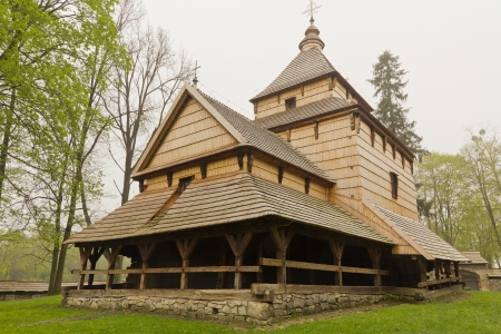 16th: the oldest eastern orthodox church architecture in poland in radruz from 16th century