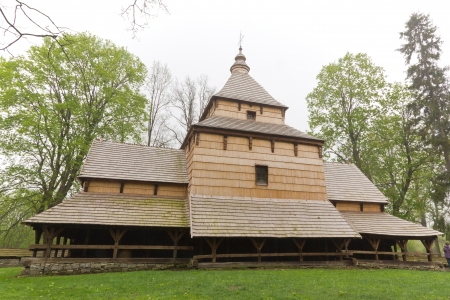 the oldest eastern orthodox church architecture in poland in radruz from 16th century photo