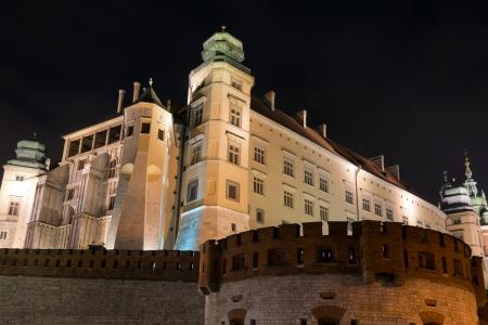 vista real de Wawel, em Crac