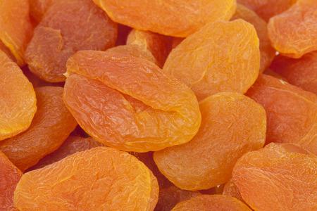 Hintergrund der getrockneten Früchte von Aprikose , close up .