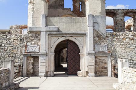 17th: Gateway to 17th century giant castle, Krzyztopor, Poland.