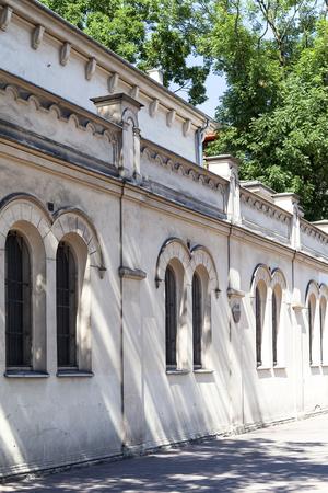 kuzmir: Tempel Synagogue in jewish district of Krakow - Kazimierz, Poland