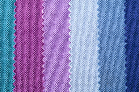 entanglement: Background of colorful stripes of cotton fabric, texture