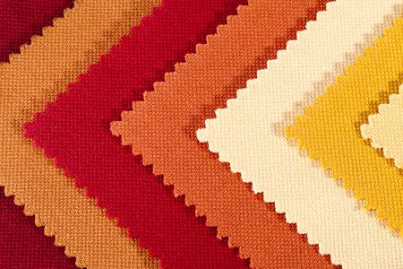 Arrière-plan de rayures colorées de tissu de coton, texture