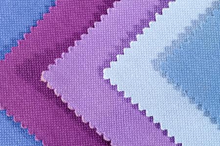 Composition des pièces colorées de tissu dentelé de coton.