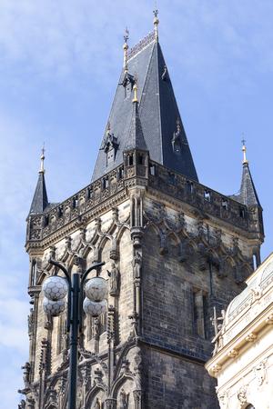 Old Town  tower, Powder Tower, Prague, Czech Republic