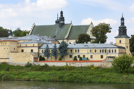 Church of the Norbertine Sisters on the bank of the Vistula River, Krakow, Poland