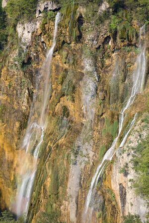 Plitvice Lakes National Park, a miracle of nature, Big Waterfall (Veliki slap), Croatia