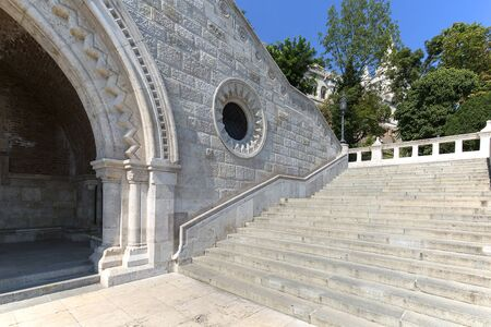 Fisherman Bastion, one of the best known monuments in the city, Budapest, Hungary
