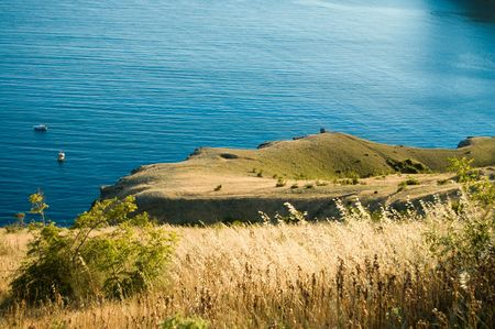 south coast of Crimean by Black Sea Stock Photo - 3453218
