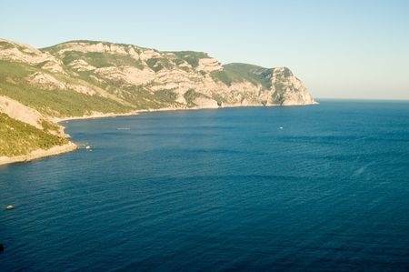 south coast of Crimean by Black Sea photo