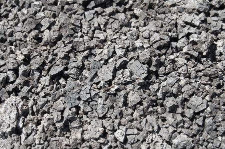 cracked black earth gumus as texture things photo