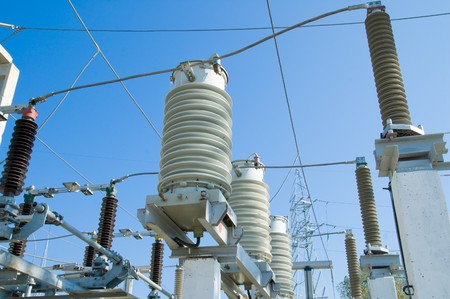 high voltage station equipment Stock Photo - 4034880