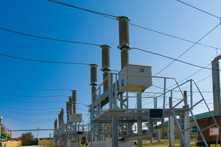 High Voltage Power Station photo