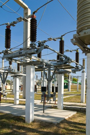 superconductor: disconnecting switch on high-voltage substation