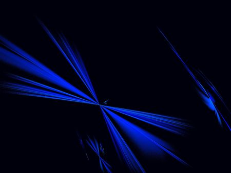 cranky: abstract blue and black background. fractal