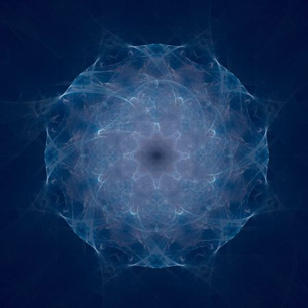 abstract figure to background. fractal Stock Photo - 4953034