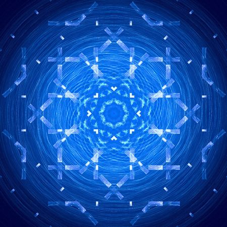 abstract figure to background. fractal Stock Photo - 4953039