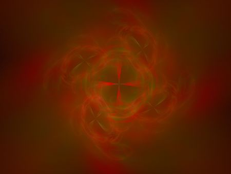 cranky: abstract figure to background. fractal rendered Stock Photo