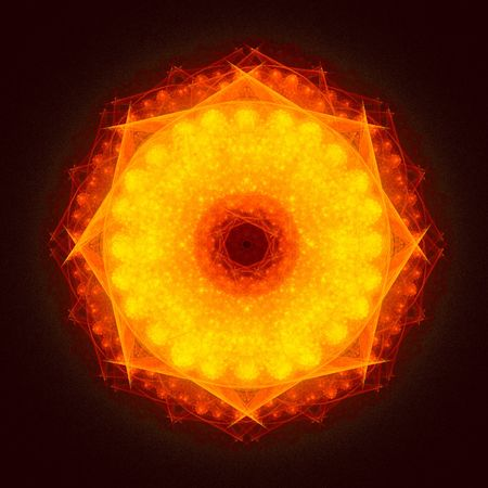 good abstract figure to background. fractal rendered Stock Photo - 5267924