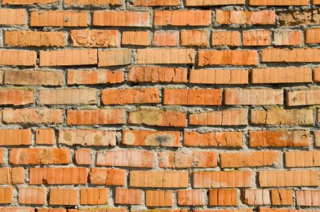 red brick wall as background Stock Photo - 5505096