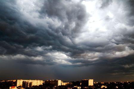 dramatic view photo