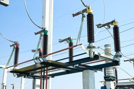 high voltage substation photo