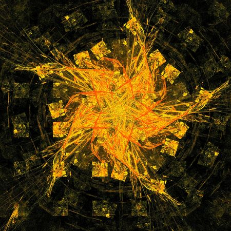 good abstract figure to background. fractal rendered Stock Photo - 6381229