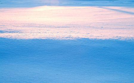 winter horizon photo