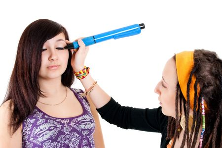 facetious eyes make-up Stock Photo - 6801965