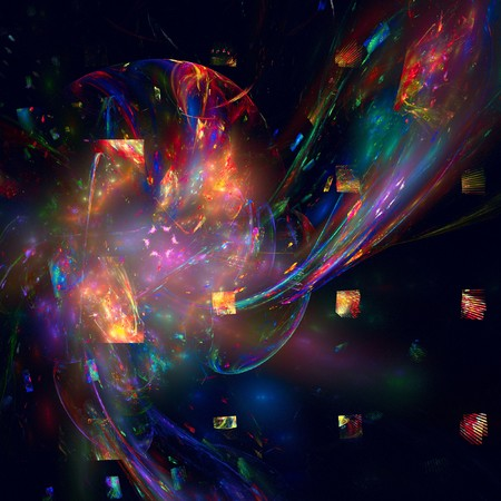 good abstract figure to background. fractal rendered Stock Photo - 6987336