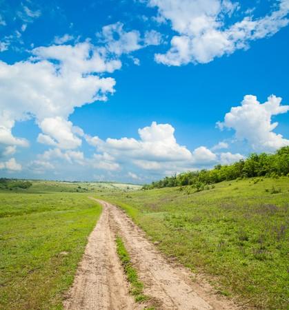 way to horizon Stock Photo - 7558974