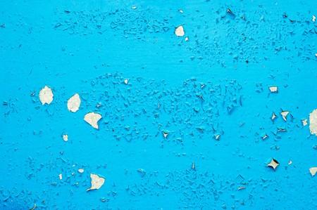 blue cracked surface photo