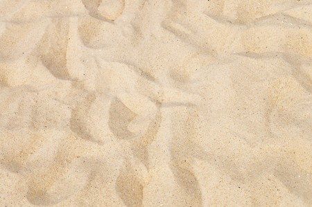 granular: texture of yellow sand on the beach