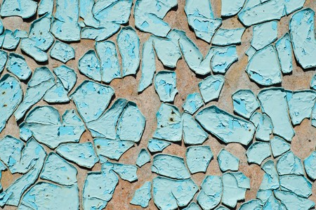 blue cracked surface Stock Photo - 8037513