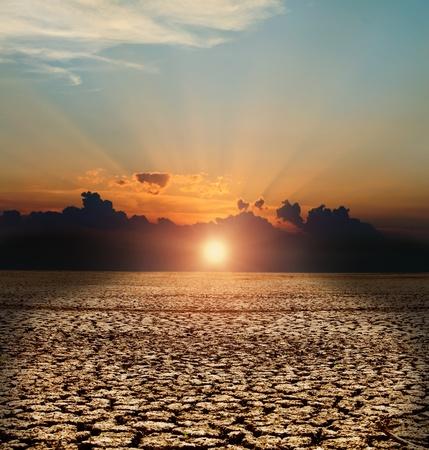 katastrophe: Naturkatastrophe. Arides Klima