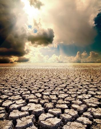 sequ�a: calentamiento global Foto de archivo