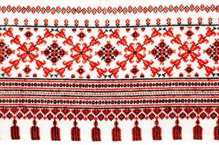 servilleta de papel: parte de servilleta bordado por patr�n de cruz-puntada