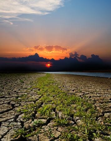 catastrophe naturelle. climat aride