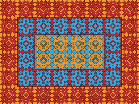 seamless colored pattern Vector