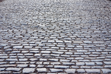 gravel roads: cobbled road as background
